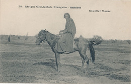 AFRIQUE OCCIDENTAL FRANCAISE - MAURITANIE - CAVALIER MAURE - Mauritanie