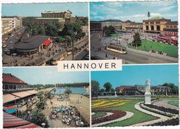 Hannover: TRAM / STRAßENBAHN, VW PICKUP-BUS, AUTOBUS - (1968) - Toerisme