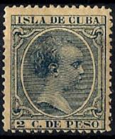 Cuba Española Nº 113 En Nuevo - Cuba (1874-1898)