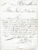 23 Vend. An 14 - NEMOURS (77) - ILLUMINATIONS - Homme Propre Au Service De L'ECLAIRAGE (frais Services Et Logement) - Documents Historiques