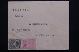 PARAGUAY - Enveloppe Pour La France En 1936 , Affranchissement Recto Et Verso -  L 20936 - Paraguay