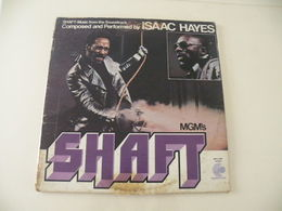 Isaac Hayes, Shaft  (Titres Sur Photos) - Vinyle 33 T LP Double Album - Rock