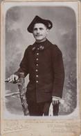 Photo : C.D.V. : Soldat : 30é Régt. Chasseur Alpin ( Photo. : Léon - Grenoble Isère ) - War, Military