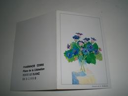 Calendrier De Poche 1995 Dessin De H. Rublon ( Petit, Mini, Publicitaire) - Calendriers