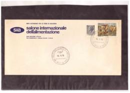 810   -    BOLOGNA   19.9.1970     /     13°  SALONE INT.LE ALIMENTAZIONE - Ernährung