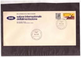 811   -    BOLOGNA   19.9.1970     /     13°  SALONE INT.LE ALIMENTAZIONE - Ernährung
