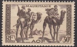 N° 81 - X X - ( C 1442 ) - Mauritanie (1906-1944)