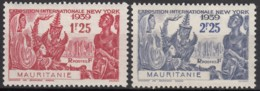 N° 98 Et N° 99 - X - ( C 1424 ) - Mauritanie (1906-1944)