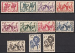 Du N° 105 Au N° 115 - X - ( C 1664 ) - Mauritanie (1906-1944)