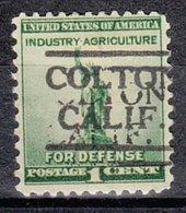 USA Precancel Vorausentwertung Preo, Locals California, Colton 490 - Vorausentwertungen