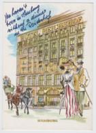 Deutschland, Hamburg, Hotel Reichshof, Ungebraucht - Hotels & Restaurants