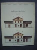 Suisse - Brochure GARES HISTORIQUES - HISTORISCHE BAHNHÖFE - Chemin De Fer