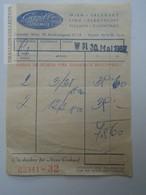 ZA157.2 Invoice - Gazelle Strumpfe - Wien Salzburg Linz Klagenfurt Villach  Eisenstadt 1960's - Austria
