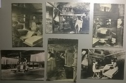 Lot De 6 Cartes Postales / Musée Historique Du Papier /  AMBERT / Puy De Dôme / Richard De Bas - Museum