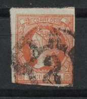 España. 1860.  Isabel II. Rueda De Carreta Nº 2 (Barcelona) - 1850-68 Reino: Isabel II