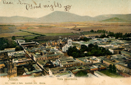 Altixco, Vista Panoramica, 1906 - México