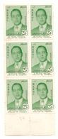 Coin De 6 Timbres Maroc De  1957. N° 378. Portrait Du Prince Héritier. - Maroc (1956-...)