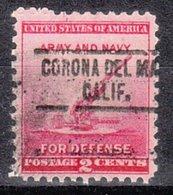 USA Precancel Vorausentwertung Preo, Locals California, Corona Del Mar 734 - Vorausentwertungen