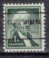 USA Precancel Vorausentwertung Preo, Locals California, Corte Madera 704 - Vorausentwertungen
