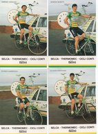 CYCLISME TOUR  DE  FRANCE  7 CARTES SELCA THERMOMEC - Cyclisme
