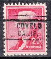 USA Precancel Vorausentwertung Preo, Locals California, Covelo 729 - Vorausentwertungen