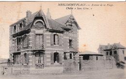 62-MERLIMONT-PLAGE- AVENUE DE LA PLAGE- - Autres Communes