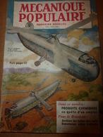 1952 MÉCANIQUE POPULAIRE: Trouvez Et Réparez Les Fuites Des Toits;Inventions à Dormir Debout;Sculpter De La Craie; Etc - Books, Magazines, Comics