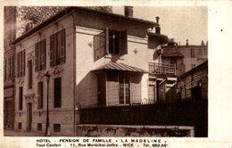 RARE   /// PENSION DE FAMILLE LA MADELINE NICE - Pubs, Hotels And Restaurants