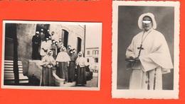 Oderzo Treviso Casa Riposo Suora Superiora E Collaboratori Suore Nuns Sœurs Nonnen Religiosas 2 Old Photo - Luoghi