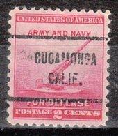 USA Precancel Vorausentwertung Preo, Locals California, Cucamonga 713 - Vorausentwertungen
