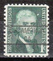USA Precancel Vorausentwertung Preo, Locals California, Cucamonga 841 - Vorausentwertungen