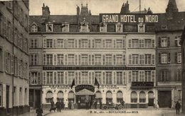 RARE   /// BOULOGNE SUR MER GRAND HOTEL DU NORD - Boulogne Sur Mer