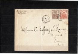 CTN55 - HAÏTI LETTRE PORT AU PRINCE / CAEN OCTOBRE 1897 - Haïti