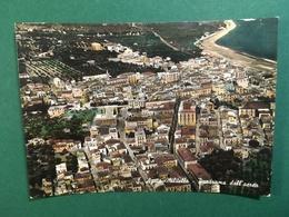 Cartolina Sant'Agata Militello - Panorama Dall'Aereo - 1960ca. - Messina
