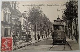CPA-B163 - BONNEUIL-SUR-MARNE - RUE DE LA MAIRIE - Bonneuil Sur Marne