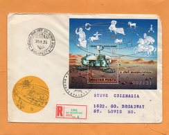 Hungary 1977 FDC Mailed - FDC