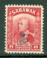 Sarawak: 1947   Charles Vyner Brooke 'Crown' OVPT  SG155     8c     MH - Sarawak (...-1963)