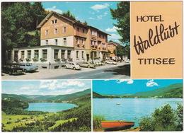 Titisee: MERCEDES 180, OPEL REKORD-A, VW 1200 KÄFER/COX, 1500, PLYMOUTH VALIANT V-100 - Hotel Waldhut - Toerisme