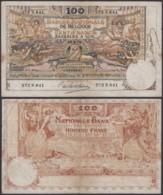 Billet De 100 Francs 16/08/14   (DD) DC1496 - [ 2] 1831-... : Royaume De Belgique