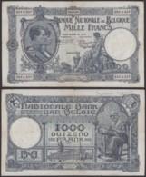 Billet De 1000 Francs 30/06/26  (DD) DC1502 - [ 2] 1831-... : Royaume De Belgique