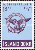 USED STAMPS Iceland - The 100th Anniversary Of The Patriotic Society -1971 - Used Stamps