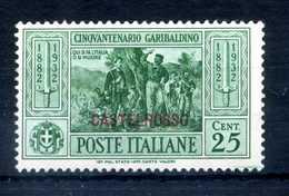 1932 CASTELROSSO GARIBALDI N.32 * - Castelrosso