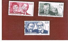 DANIMARCA (DENMARK)  -   SG 1172.1174   -  1999   150^ ANNIVERSARY OF DANISH REVUE         - USED ° - Usati