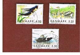 DANIMARCA (DENMARK)  -   SG 1180.1182   -  1999   MIGRATORY BIRDS        - USED ° - Danimarca