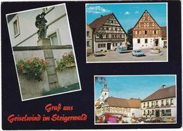 Geiselwind: OPEL REKORD-C & KADETT- B - CARAVAN/WOHNWAGEN - Hotel Lamm - Steigerwald - Toerisme