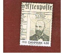 DANIMARCA (DENMARK)  -   SG 1187   -  2000   THE 20^ CENTURY: J.H. DEUNTZER       - USED ° - Danimarca