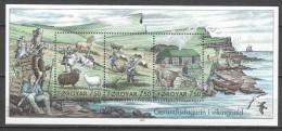 Faroe Islands 2005 Mi Block 18 MNH - Faeroër