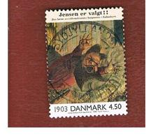 DANIMARCA (DENMARK)  -   SG 1188   -  2000   THE 20^ CENTURY: CARICATURE       - USED ° - Danimarca