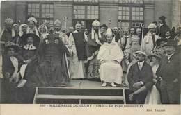 CPA 71 Saone Et Loire Millenaire De Cluny - Le Pape Innocent IV - 1910 - Papes