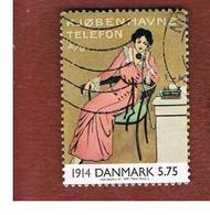 DANIMARCA (DENMARK)  -   SG 1190   -  2000   THE 20^ CENTURY: POSTER       - USED ° - Usati